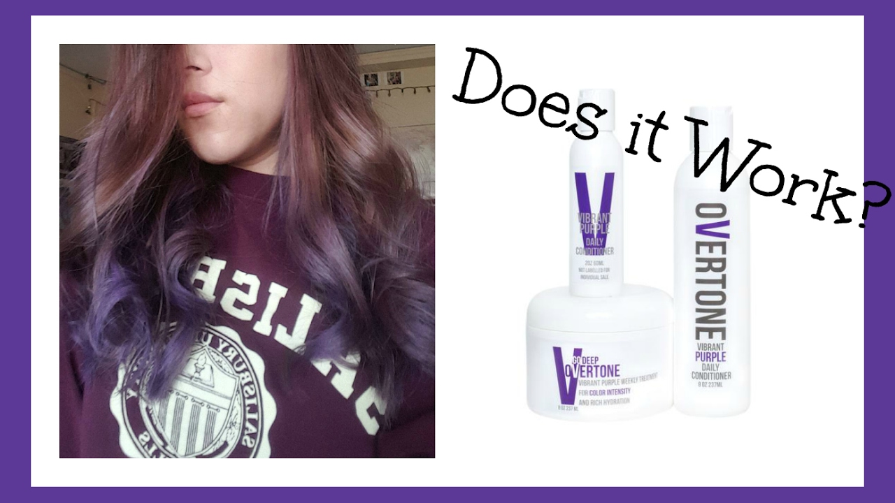 Conditioner That Colors Your Hair Overtone Review Youtube