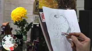 ТЕСТ трансляция - Золотая японская хризантема