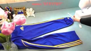 видео Тренировочные штаны (брюки) для футбола