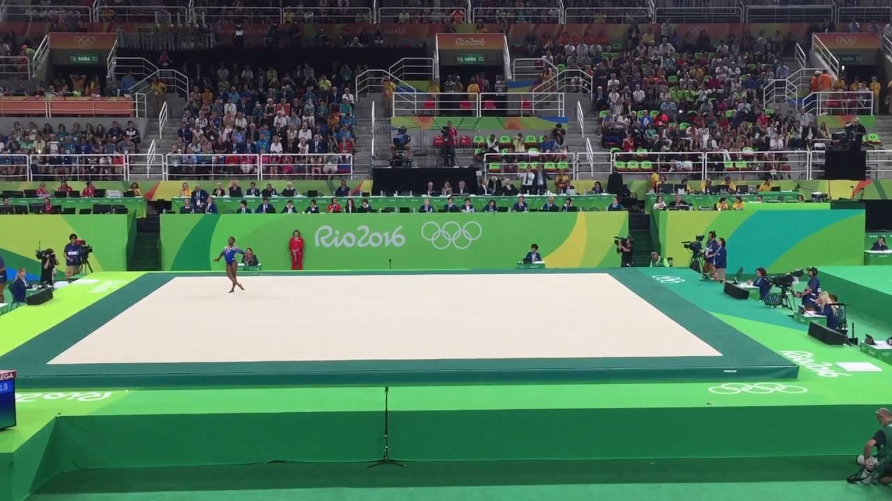 Simone Biles Floor Rio 2016 Olympic Games Gold