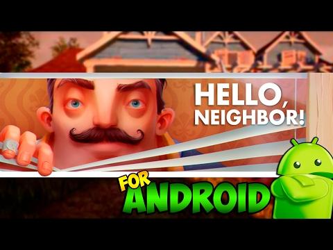 ПРИВЕТ СОСЕД на Андроид !! | СКАЧАТЬ БЕСПЛАТНО !! | Lets Play #1 !!