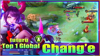Change 100% Ultra Damage! Top 1 Global Change Gameplay by tuturu ~ Mobile Legends