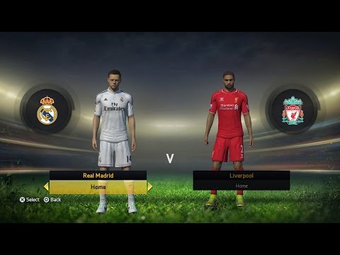PS4 FIFA 15 Modo Carrera Jugador Javier 'Chicharito' Hernandez EP1 Real Madrid vs Liverpool