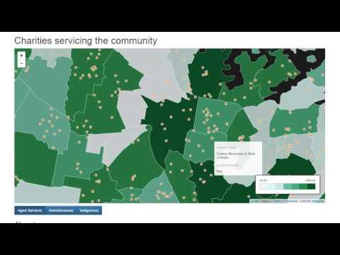 Sleepless in Sydney Charity Mapping GovHack 2015