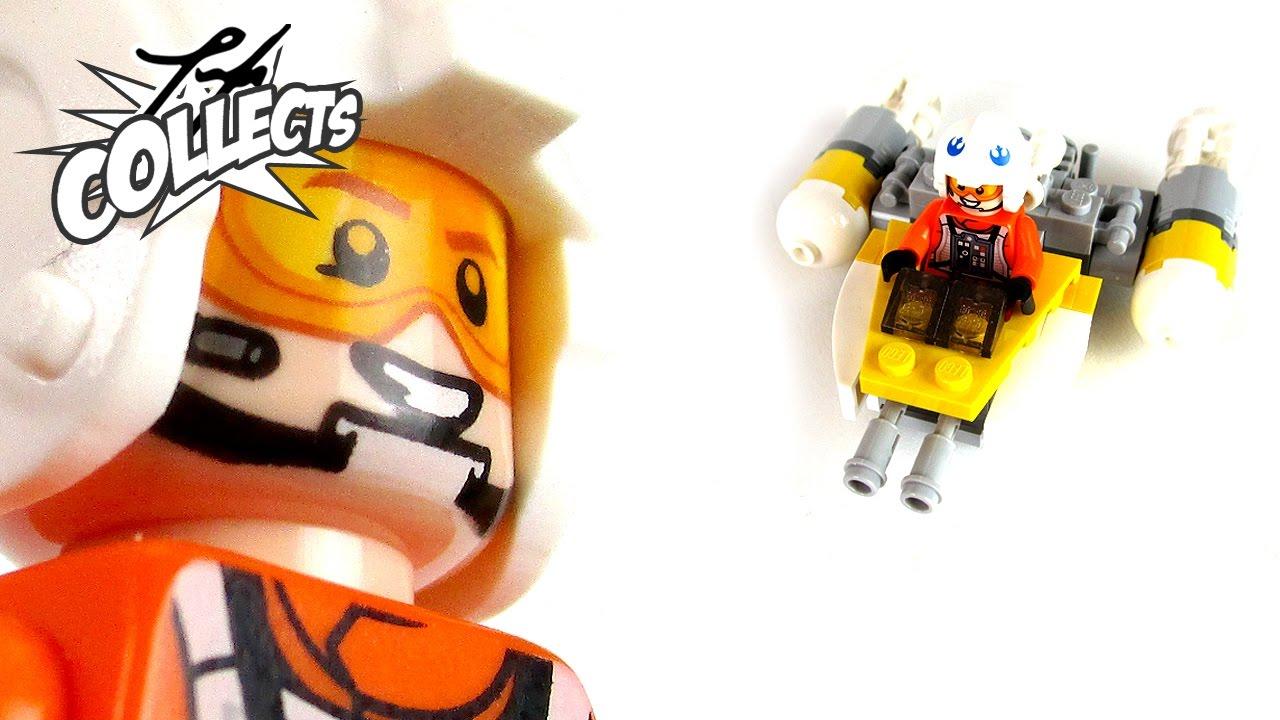 LEGO Star Wars - Y-Wing Microfighter Style 11912 - Unboxing Speedbuild  Review - deutsch