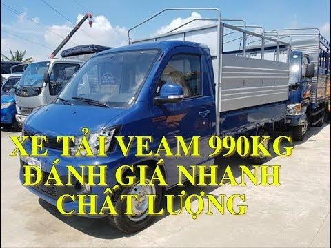 Xe Tải Veam 990KG - VEAM 990kg VPT095 Thùng 2m6 đời 2020 LH 0908.246.926 biết giá