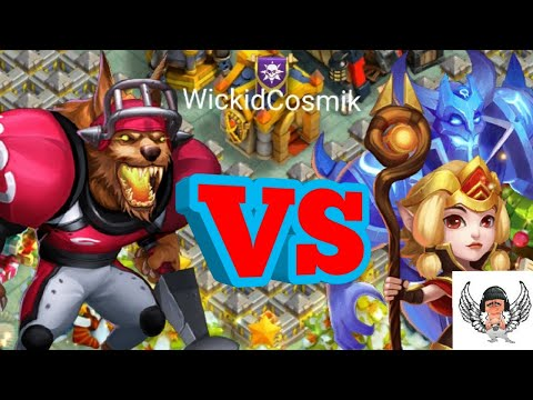 Anubis Vs Espirita | Gameplay Comparison | Update Aftermath [CASTLE CLASH]