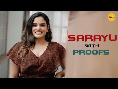 Sarayu with proofs   Big Boss   7 Arts   Sarayu