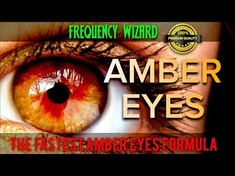 THE FASTEST AMBER EYES CHANGING FORMULA EVER! SUBLIMINAL AFFIRMATIONS FREQUENCY! GET AMBER EYES!