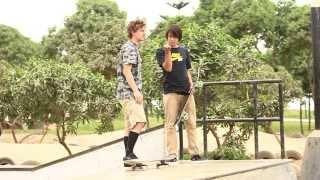 Sean Malto y Cory Kennedy - skatepark Miralfores