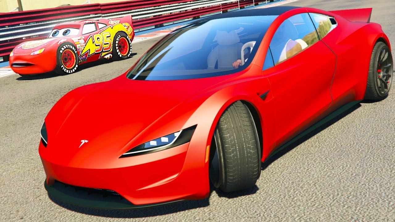 Tesla Roadster  Fastest Car