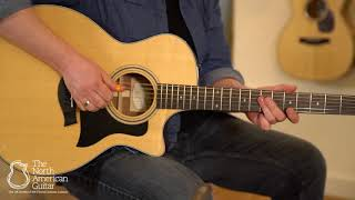 Taylor 314ce Electro-Acoustic Guitar Played by Ben Smith (Part Two)