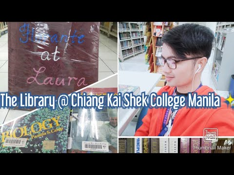 The Library @ Chiang Kai Shek College Manila
