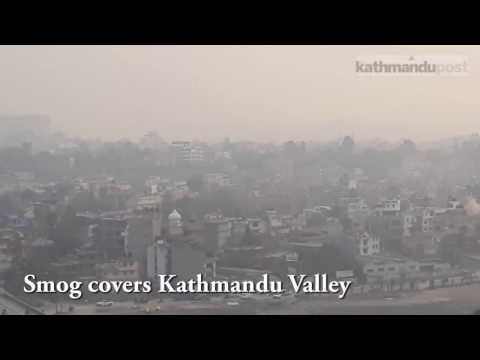 Kathmandu smog: It's harder to breathe