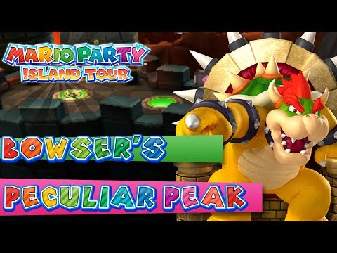 Mario Party Island Tour: Bowser's Peculiar Peak (4-Player)