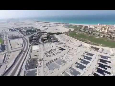 Jawaher Saadiyat Progress - Drone footage 04/01/17