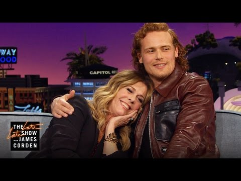 Sam Heughan's Biggest Fan is Rita Wilson (and Her Friends)