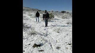 Nieve en Manuel Doblado Guanajuato PARTE 2