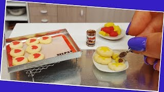 Mini design Cookie / Miniature cooking / Mini Food  / Jenny's mini cooking show / 食べれるミニチュア