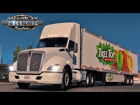 American Truck Simulator #4 (Demo) | CONSTRUCTION HOUSES!