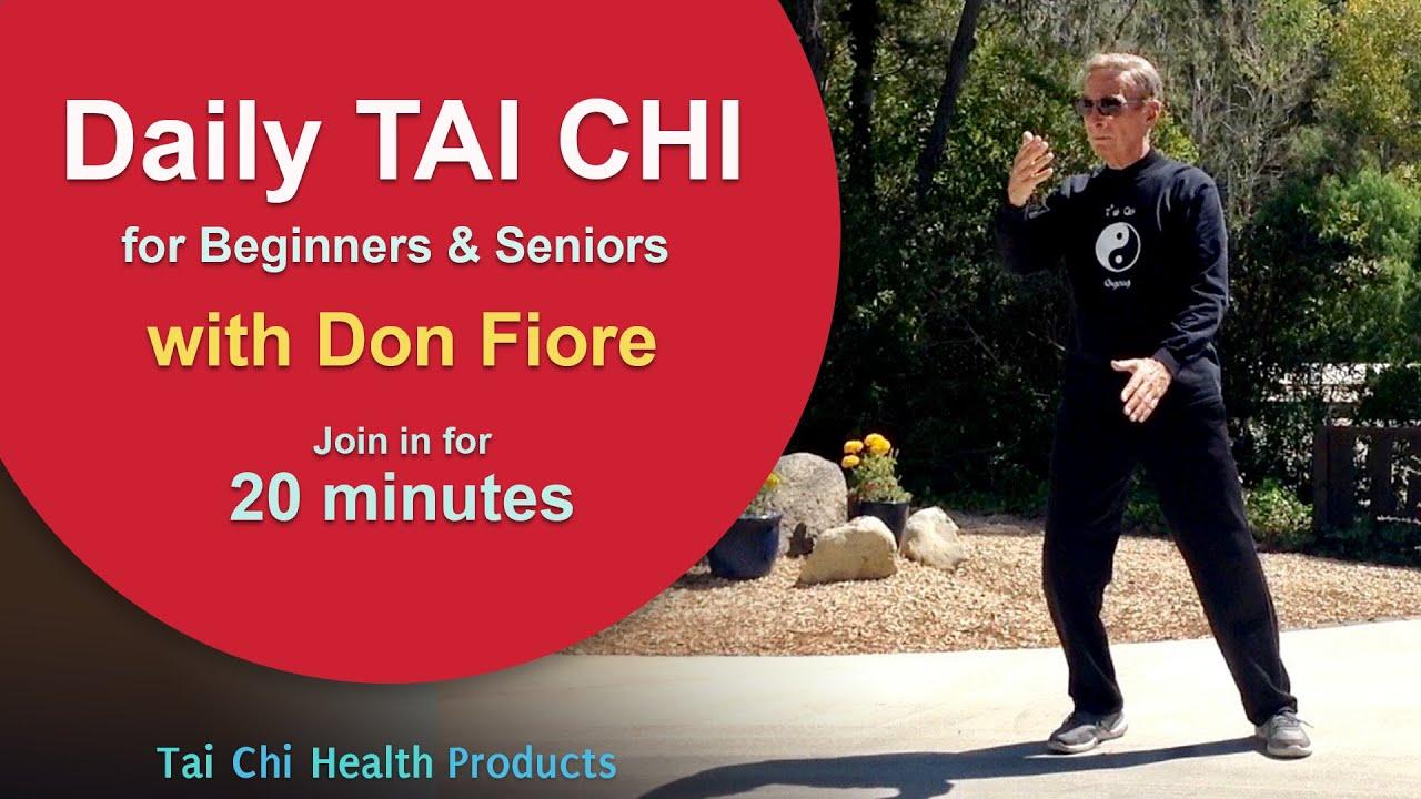Fiori Youtube.Daily Taichi With Don Fiore 20 Min Youtube