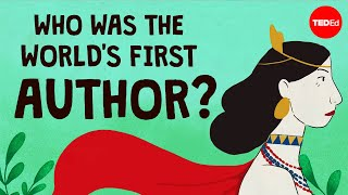 Who was the world's first author? - Soraya Field Fiorio