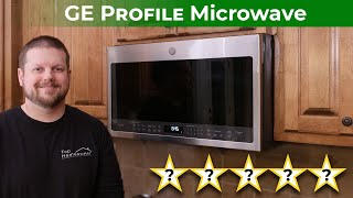 is this the best microwave oven ge profile overhead microwave review