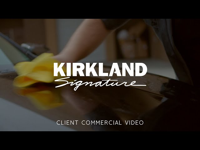 Kirkland Signature Microfiber Cloths Commercial - Made by Envy Creative