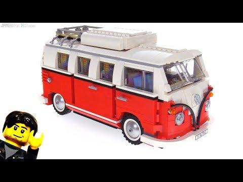 LEGO Volkswagen T1 Camper Van review 10220