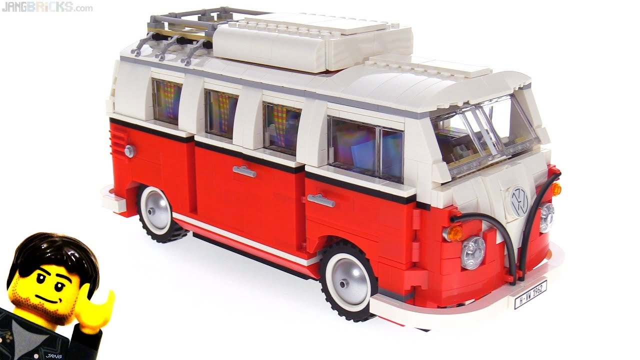 lego volkswagen t1 camper van review 10220 youtube. Black Bedroom Furniture Sets. Home Design Ideas