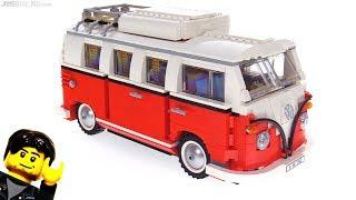 Baixar LEGO Volkswagen T1 Camper Van review! 10220