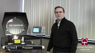 Suburban Tool MV-14-Q Optical Comparator Instructional Video