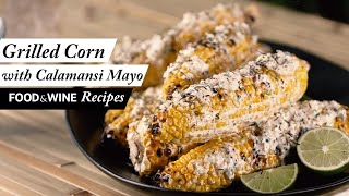 Grilled Corn on the Cob with Calamansi Mayo | Summer Grilling Recipe