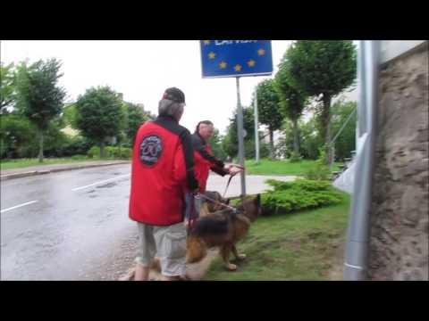 Funny border crossing: VALKA Latvia - VALGA Estonia
