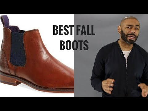 10 Best Men's Fall Boots/ Top Stylish  Boots Men Need This Fall