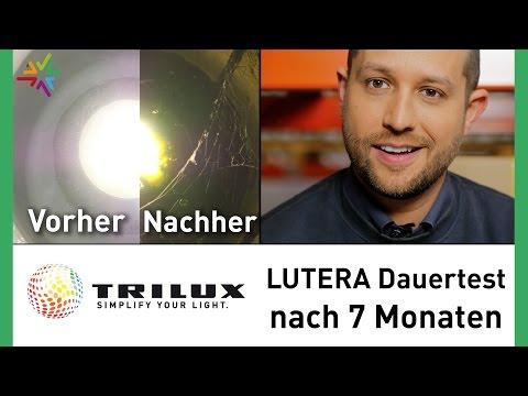 Die LED Bodenstrahler TRILUX LUTERA 7 Monate unter Wasser