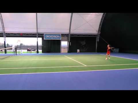 tennis - elisa iuri 9 anni