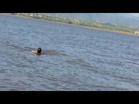 Rawal dam swim 2017