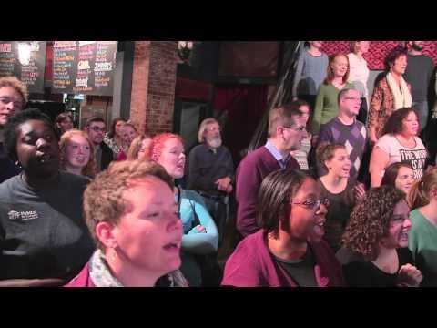 PopUp Chorus sings
