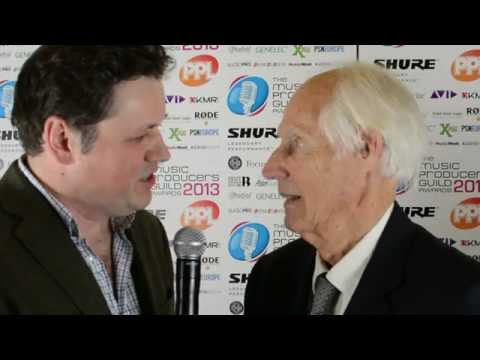 Sir George Martin CBE - The Outstanding Contribution To UK Music - MPG 2013 Awards