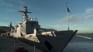 China-built Nigerian Navy Vessel Berths in South Africa