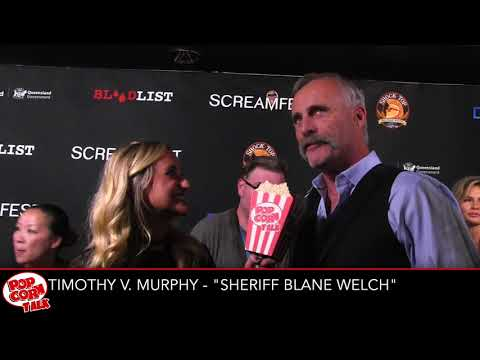 Timothy V. Murphy I Tragedy Girls Premiere at Screamfest I Popcorn Talk
