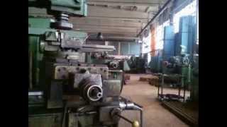 работа на фрезерном и токарном станке станке