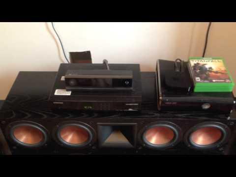 My Klipsch RF 7 II home setup