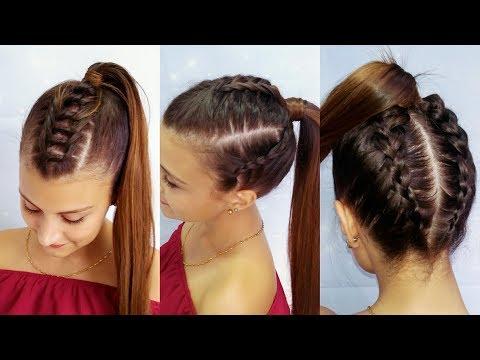 Peinados Con Trenzas Y Coletas - Belleza Sin Limites