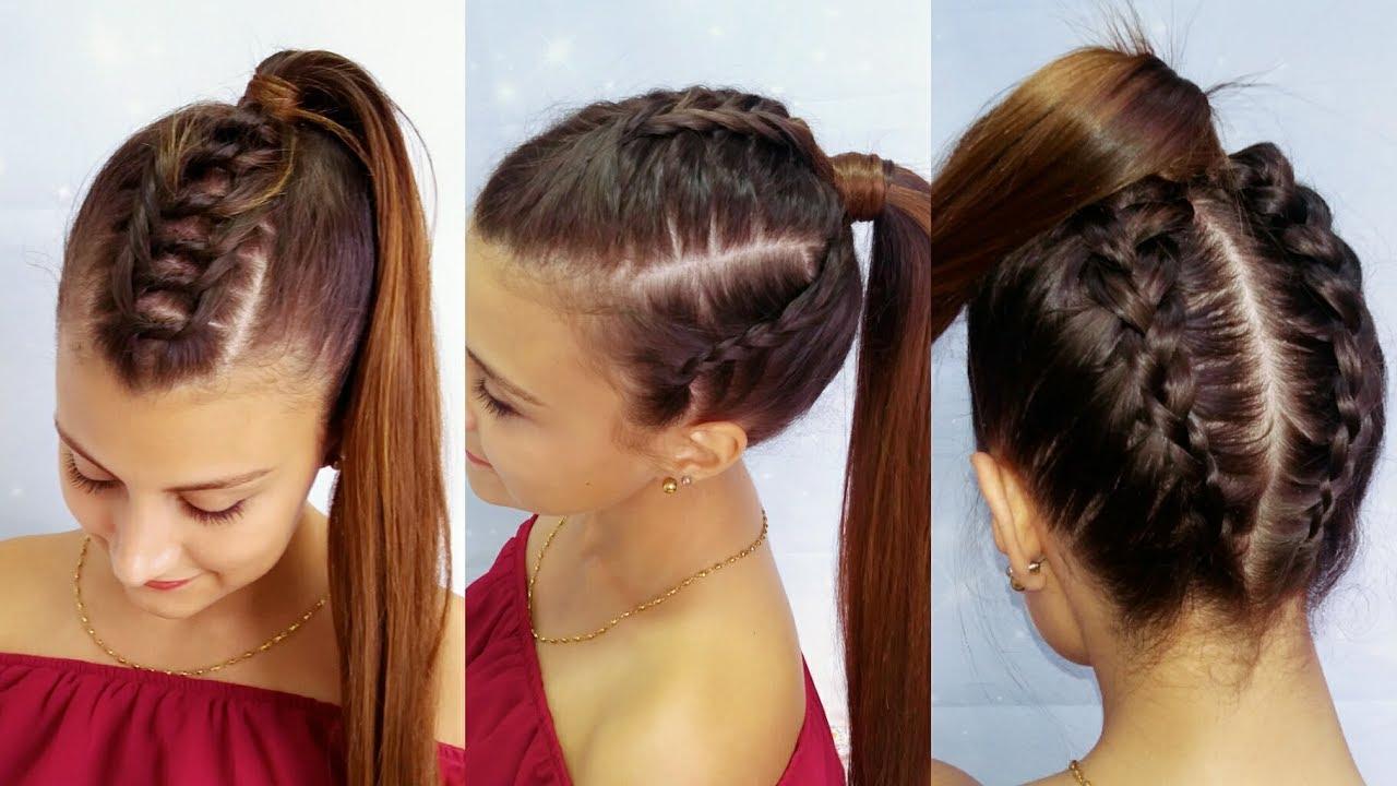 Peinados con trenzas y coletas belleza sin limites youtube - Peinados y trenzas ...