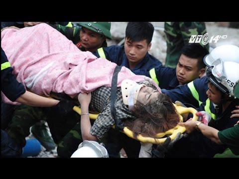 (VTC14)_Sập nhà 4 tầng ở Hà Nội, 1 người chết