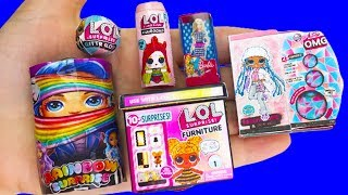 COOL DIY BARBIE MINIATURE LOL SURPRISE HACKS AND CRAFTS !!!