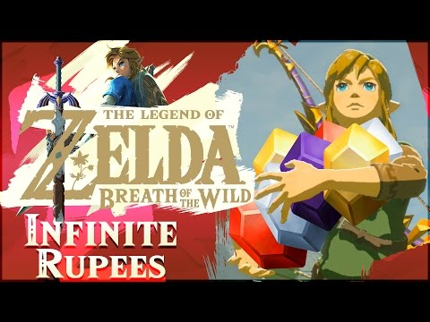 How To Get INFINITE RUPEES In The Legend of Zelda: Breath of the Wild!