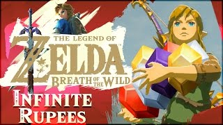 How To Get INFINITE RUPEES In The Legend of Zelda: Breath of the Wild!